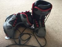 Snowboard boots UK SIZE 6