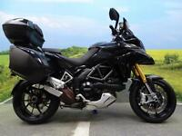Ducati Multistrada 1200 S Touring **SAT NAV FULL LUGGAGE AND FDSH**