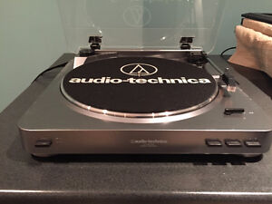 Record Player - Turntable - Audio Technica