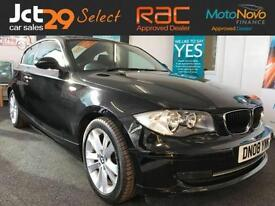 2008 08 BMW 1 SERIES 2.0 118D EDITION ES 3D SPORT SEATS, DIESEL