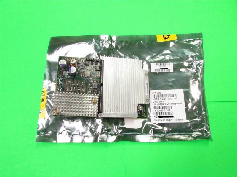 New Cisco Lsi 400gb Slc Warpdrive Ucsb-f-lsi-400s Solid State Drive #63001