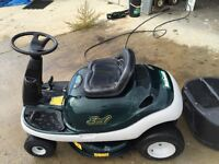 Mastercraft Ride on 3in1 Mower With Leaf Catcher in great shape