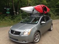 Roof rack complet thule. Nissan sentra 07-12