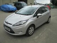 2010 Ford Fiesta 1.6TDCi 2009MY Econetic diesel 1 owner A/C E/W CD stereo euro 4