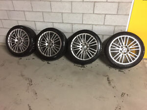 VW Volkswagen 5x112 18inch with Michelin Xice3