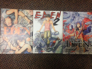 Eden: It's an Endless World! volumes 1-3