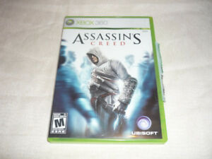 Assassin's Creed (First One) Xbox 360