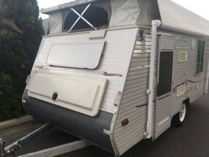 POPTOP CARAVAN- COROMAL 14ft (DOUBLE BED/ ROLLOUT AWNING) Brompton Charles Sturt Area Preview