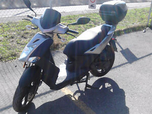 SCOOTER KYMCO AGILITY GRIS