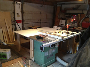 general table saw 50-275, 3hp, right tilt, new switch! - $650 West Island Greater Montréal image 2