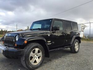 2008 WRANGLER SAHARA UNLIMITED