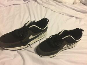 Air Max Black size 9.5 for Male...unauthentic never worn. St. John's Newfoundland image 1