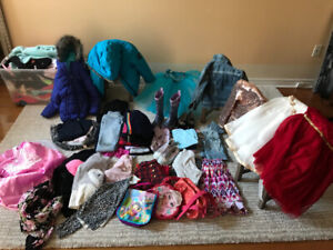 Girls clothes size 4 to 6T