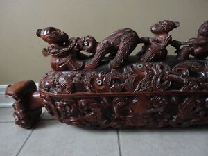 Unique Thai Hand Carved Sculpture Feng Shui London Ontario image 3
