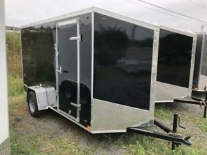 Miska Streamline 6x10 Enclosed Trailer - Canadian Made