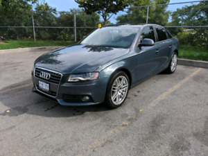 2009 Audi A4 2.0LT Quattro **PRICED TO SELL**