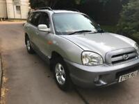2005 Hyundai Santa Fe 2.0CRTD CDX DIESEL LEATHER SUNROOF BARGAIN 4x4 SUPREB!
