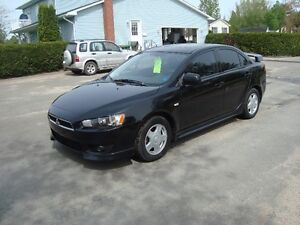 2009 MITISIBUSHI LANCER 4DR $6995 PLS THE HST
