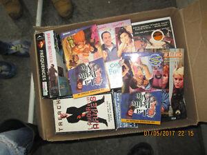 boite plein de VHS
