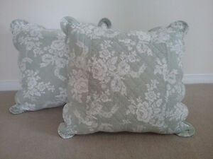Down filled Shabby Chic cushions for sale!