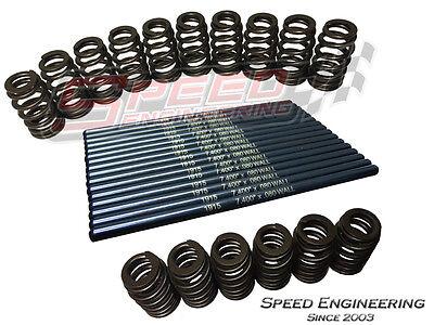 "Manley LS Pushrods 7.400"" & PAC 1218 Valve Springs (GM LS1, LS2, LS3, LS6, LS9)"