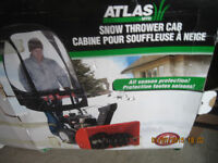 Cabine de souffleuse a neige