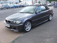 BMW 3 SERIES Manual Petrol 318CI M SPORT COVERTIBLE Grey 2006 81000 Petrol