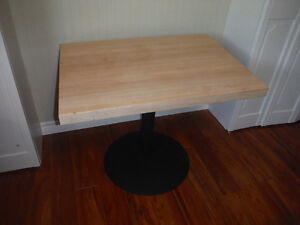 Authentic Original Fully Restored Hard Rock Maple Chef Table