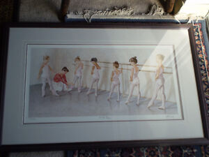"""John Newby - """" At the Barre """" - Limited Edition Print Kitchener / Waterloo Kitchener Area image 1"""
