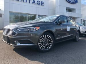 2018 Ford Fusion Energi SEPLUG IN HYBRID , POWER MOON ROOF , REM