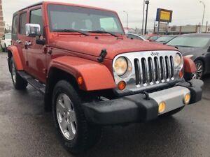 2009 Jeep Wrangler Unlimited Sahara 4X4, FINANCEMENT MAISON
