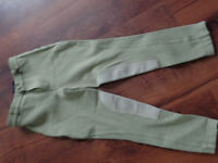 HORSE BACK RIDING PANTS AND BOOTS