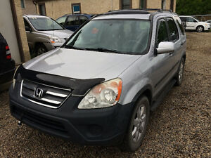 2005 Honda CR-V EX AWD, 169000 kms, INSPECTED, VERY CLEAN ~