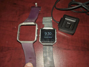 Fitbit Blaze with 2 bands