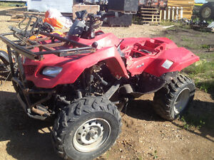 Parting Out 2008 King Quad 400FS