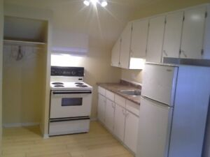 Cute Upper Bachelor Apartment for Rent: Village of Sharbot Lake