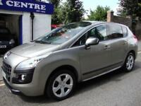 PEUGEOT 3008 1.6HDi DIESEL EGC EXCLUSIVE * 2010 * SEMI-AUTOMATIC