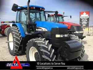 2005 New Holland TM190 MFD SuperStreer Tractor