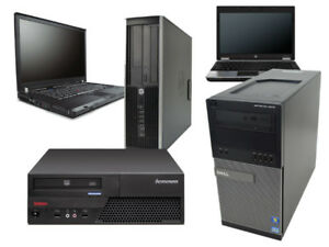 Older computers PC and laptops