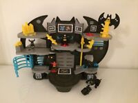 Imaginext DC Super Friends Batcave + Imaginext Bat Bike