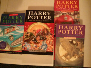 Harry Potter lot of 4 books $10