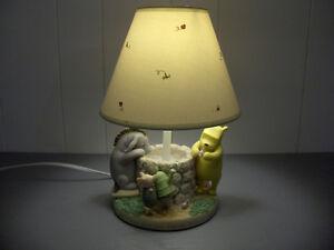 Winnie the Pooh Ceramic Babies Room Lamp