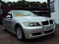 BMW E90 320i SE 2.0L Petrol–YEARS MOT- LOW MILEAGE–SERVICE HISTORY-LEATHER SEATS