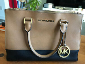 Michael Kors Sutton Colorblock Satchel