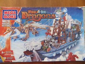 Ensemble MegaBloks Dragons