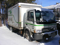 2006 INTERNATIONAL DIESEL CABOVER CUBE CAB CHASSIS TRUCK
