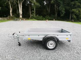 New 7 x 4 (750kg) trailer