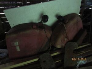 fenders for international tractor model 354, and chains