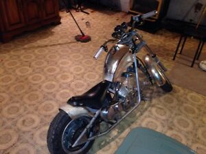 Mini chopper bike (price reduced) $400