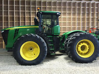 2013 John Deere 9410R, powershift, 710 duals,leather active seat